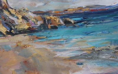 Kapatus beach Turquoise coast by Anna Martin