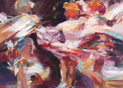 Dancers - by Anna Martin