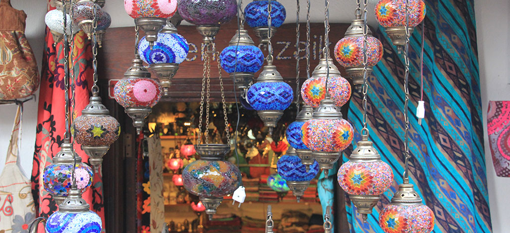 Lighting shop in Kalkan