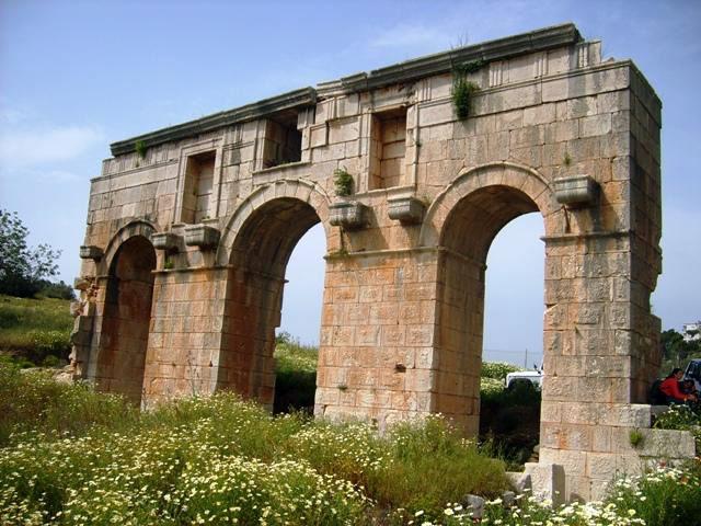 Patara gate ruins