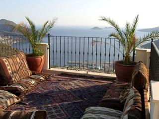 Villa vanilla roof terrace