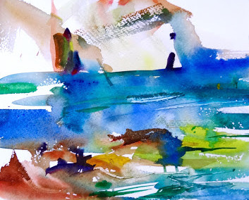 Watercolour by Anna Martin