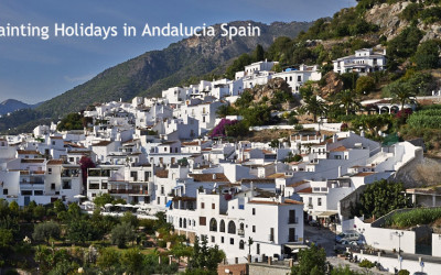 LAUNCH OF NEW PAINTING HOLIDAY IN FRIGILIANA, ANDALUCIA, SPAIN
