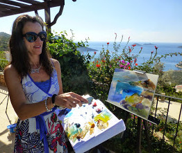 News from  our painting holiday in Kalkan November