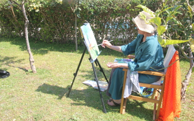 Some photos of April's Painting Holiday in Turkey – next one in May – book now!