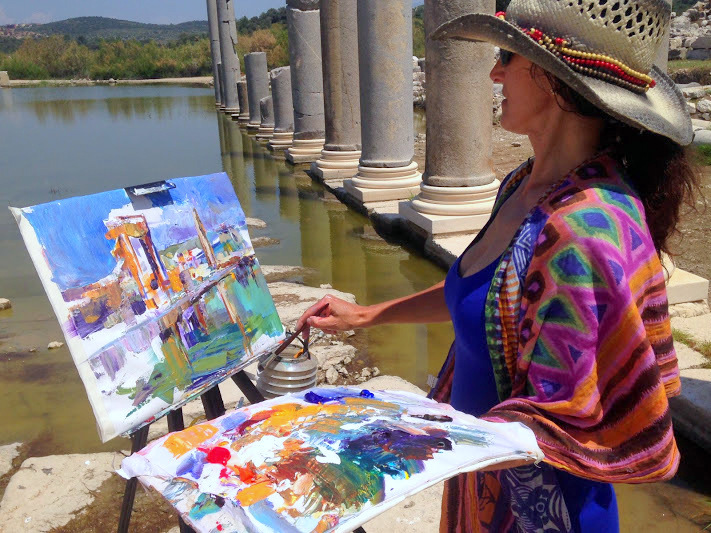 Painting Holidays in Kalkan, Turkey | Creative Getaways