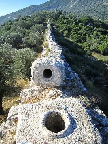 Aqueduct In Turkey