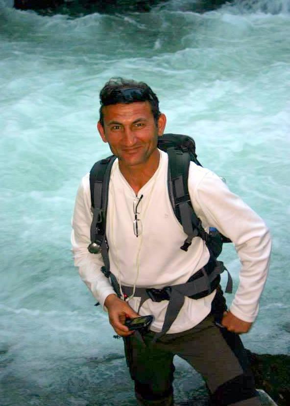 Bayram Dinc walking guide Turkey