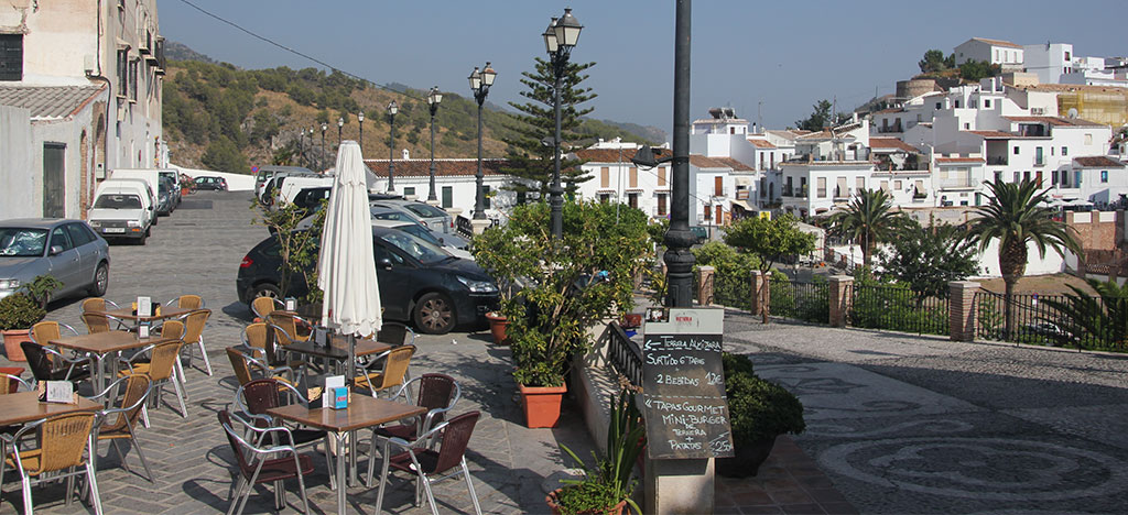 Cafe in Frigiliana