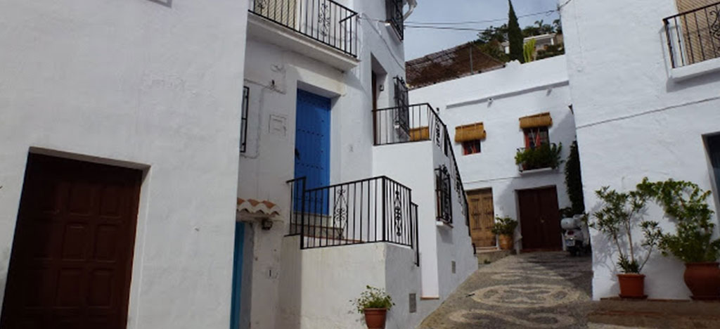 Frigiliana Hilly Back Street
