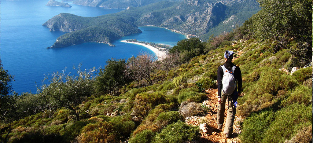 man-walking-along-Lycian-Way